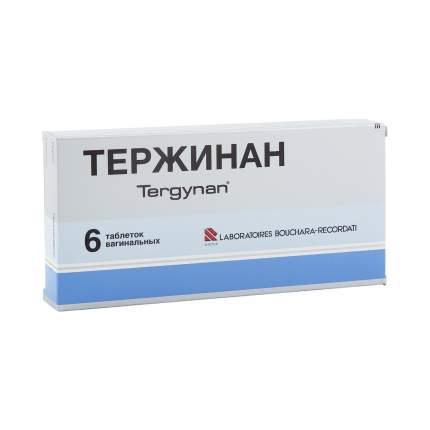 Тержинан таблетки вагинальные 6 шт.