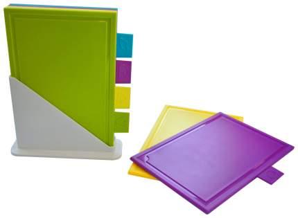 Набор разделочных досок Giaretti GR1875 Белый, голубой, желтый, зеленый, фиолетовый