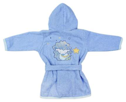 Халат детский Золотой Гусь Ёжик Топа-Топ голубой 74