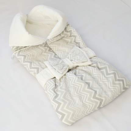 Одеяло-трансформер Евгения Весна Серый зигзаг