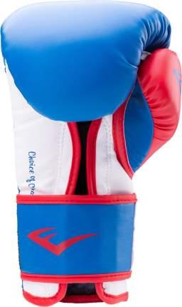 Боксерские перчатки Everlast Powerlock красные/синие 10 унций
