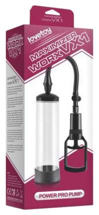 Вакуумная помпа с черным вкладышем Maximizer Worx VX1 Power Pro Pump 20,3 см