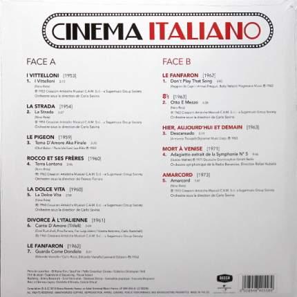 Виниловая пластинка Сборник Cinema Italiano (LP)