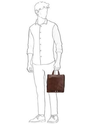 Несессер мужской Sergio Belotti 8220 milano brown, коричневый