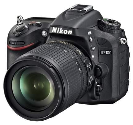 Фотоаппарат зеркальный Nikon D7100 18-105mm VR Black