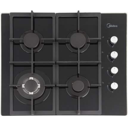Встраиваемая варочная панель газовая Midea Q404GFD-BL Black
