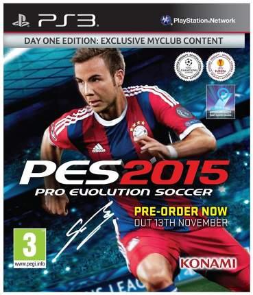 Игра Pro Evolution Soccer 2015 для PlayStation 3
