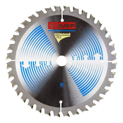 Пильный диск по дереву  Зубр 36903-150-16-24