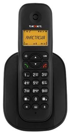 Телефон DECT teXet TX-D4505A Black