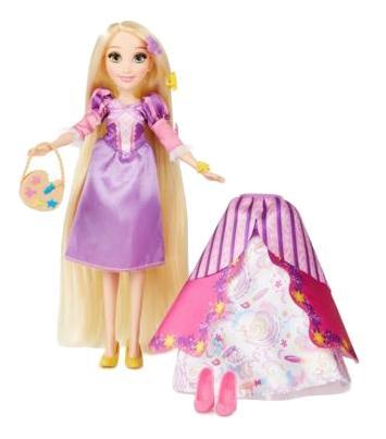 Кукла Disney Рапунцель в платье со сменными юбками