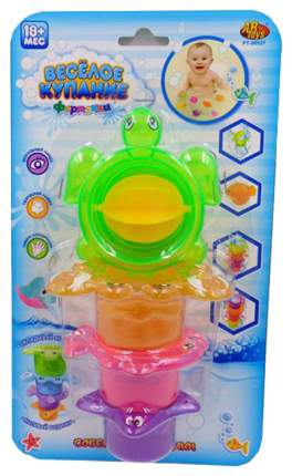 Веселое купание. черепашка-мельница для ванной pt-00543