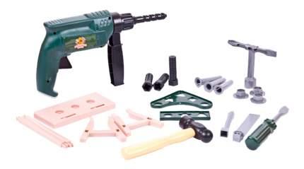 Помогаю папе. набор инструментов в чемодане pt-00566