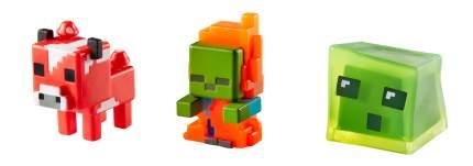Игровой набор Minecraft Набор из 3х фигурок персонажей minecraft CGX24 CKH39
