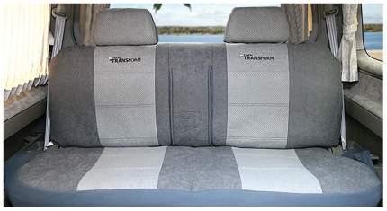 Комплект чехлов на сиденья Autoprofi MPV-006 D.GY/L.GY