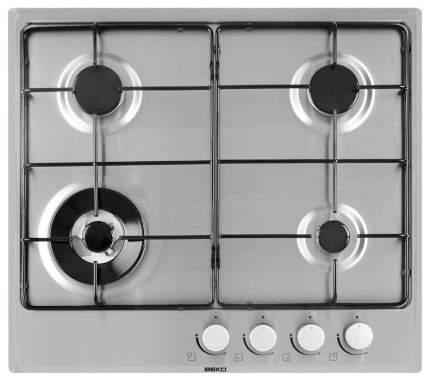 Встраиваемая варочная панель газовая Beko HIMW 64223 SX Silver