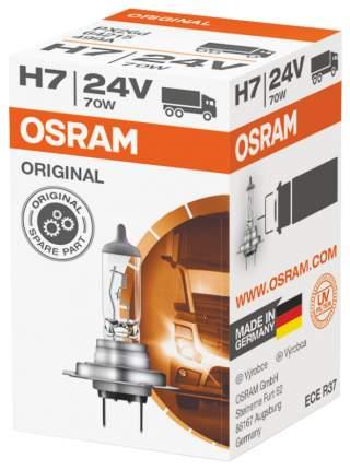 Лампа галогенная автомобильная OSRAM Н7 24 V 70W (64215)