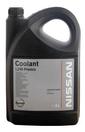 Антифриз Nissan COOLANT L248 PREMIX Зеленый Готовый антифриз 5л 4.8кг