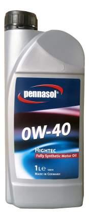 Моторное масло Pennasol Hightec SAE 0W-40 1л