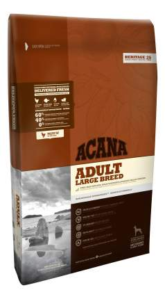 Сухой корм для собак ACANA Heritage Adult Large Breed, для крупных пород, цыпленок, 11,4кг