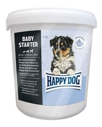 Сухой корм для щенков Happy Dog Baby Starter, птица, 4кг