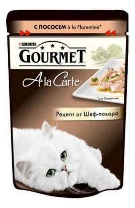 Влажный корм для кошек Gourmet A la Carte, лосось, 24шт, 85г