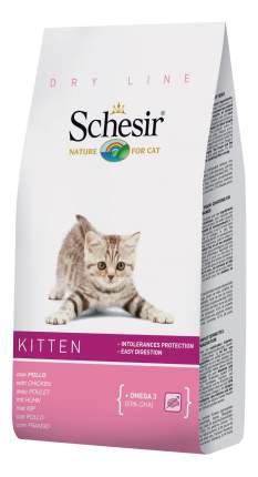Сухой корм для котят Schesir Dry Line Kitten, курица, 1,5кг