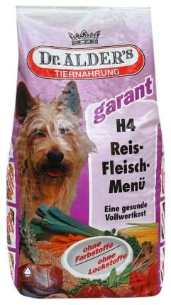 Сухой корм для собак Dr. Alder's Garant H4, говядина, рис, 5кг