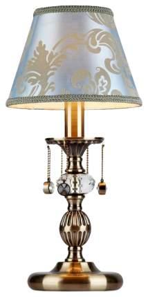 Настольный светильник Maytoni Vals ARM098-22-R Голубой, золотистый