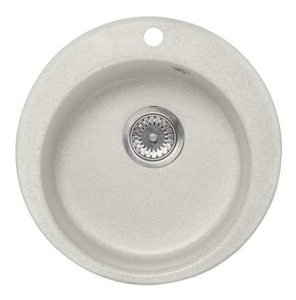 Мойка для кухни из мрамора AquaGranitEx m-05 белый
