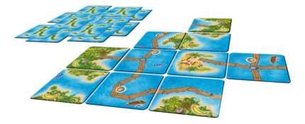 Семейная настольная игра Каркассон Южные моря Hobby World 1180