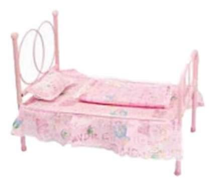 Кроватка для куклы Shantou Розовая