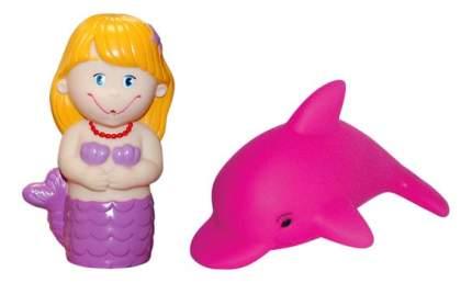 Игрушка для купания Затейники Дельфин и русалка