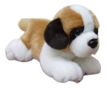 Мягкая игрушка SOYA Щенок породы сенбернар, 20x9x11 см