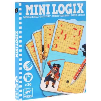 Мини-игра Djeco Морской бой 05355