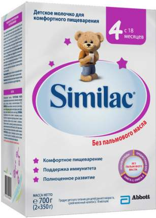 Детское молочко SIMILAC 4, с 18 месяцев, 700 г