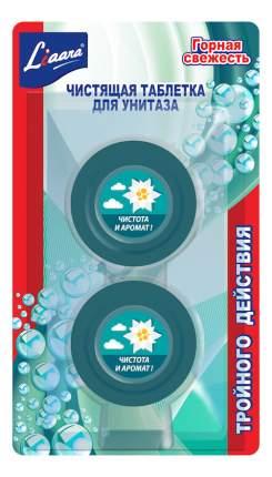 Чистящая таблетка для унитаза Liaara горная свежесть 50*2 г