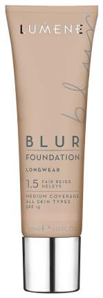 Основа для макияжа Lumene Blur Foundation Longwear SPF 15 Fair Beige 1,5 30 мл