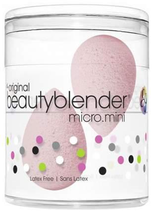 Спонж для макияжа beautyblender micro.mini bubble Светло-розовый 2 шт