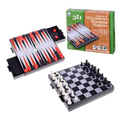 Игра в дорогу Shantou Gepai Шахматы, шашки и нарды магнитные
