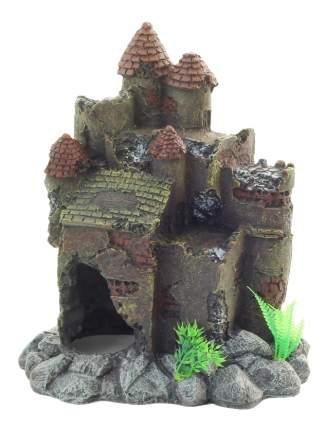 Грот для аквариума LAGUNA Замок с башнями 025КВ, 26,5х18,5х30см