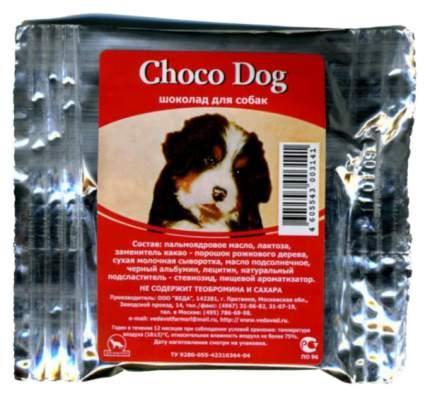 Лакомство для собак VEDA Choco Dog, шоколад тёмный, 15г
