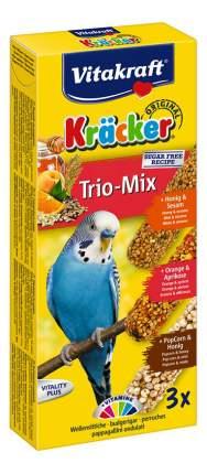 Лакомства для птиц Vitakraft с медом, кукурузой и апельсином для волнистых попугаев