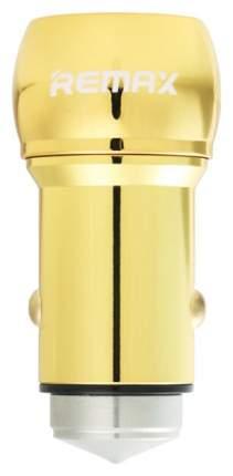 Автомобильный адаптер 2,4A 2 USB Remax RCC - 205 Gold