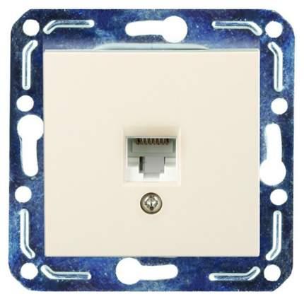 Розетка компьютерная одноместная Volsten V01-12-C11-M
