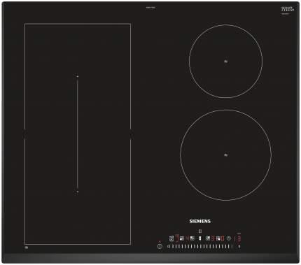 Встраиваемая варочная панель индукционная Siemens ED651FSB1E Black