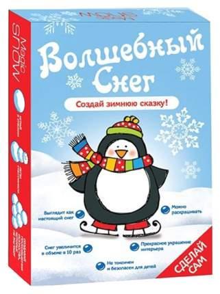 Набор для экспериментов Бумбарам Волшебный снег Пингвин