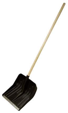 Лопата снеговая, 360 х 400 мм, с черенком в/с, пластмассовая// СИБРТЕХ 61566