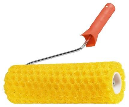 Валик малярный MATRIX Структурный поролоновый с ручкой горошек 230 мм D80 мм 80222