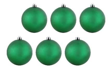 Набор шаров на ель Snowmen ЕК0019 6 см 6 шт.