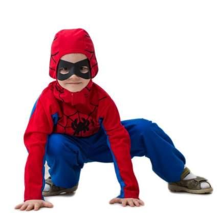 Карнавальный костюм Бока Человек Паук Люкс (со штанами) 3-6 лет рост 104-116 см